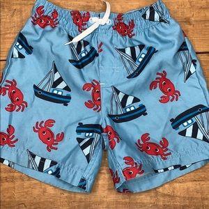 Boys Gymboree swim trunks - size 3T